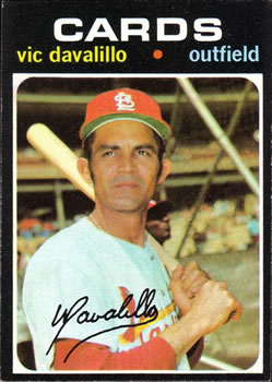 1971 Topps #4 Vic Davalillo