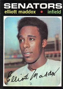 1971 Topps #11 Elliott Maddox RC