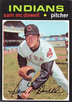 1971 Topps #150 Sam McDowell