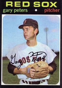 1971 Topps #225 Gary Peters