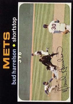 1971 Topps #355 Bud Harrelson/Nolan Ryan in photo