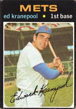 1971 Topps #573 Ed Kranepool