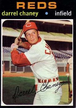 1971 Topps #632 Darrel Chaney