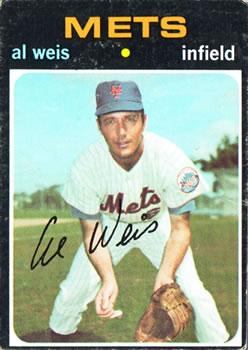 1971 Topps #751 Al Weis SP