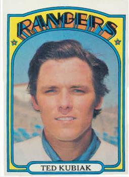 1972 Topps #23 Ted Kubiak