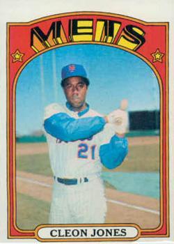 1972 Topps #31 Cleon Jones