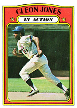 1972 Topps #32 Cleon Jones IA
