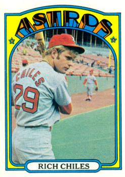 1972 Topps #56 Rich Chiles RC