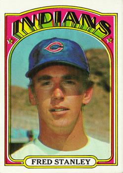 1972 Topps #59 Fred Stanley RC