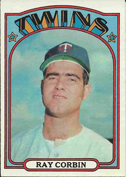 1972 Topps #66 Ray Corbin RC