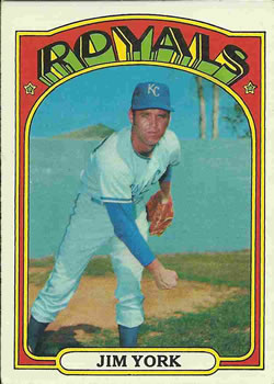 1972 Topps #68 Jim York RC