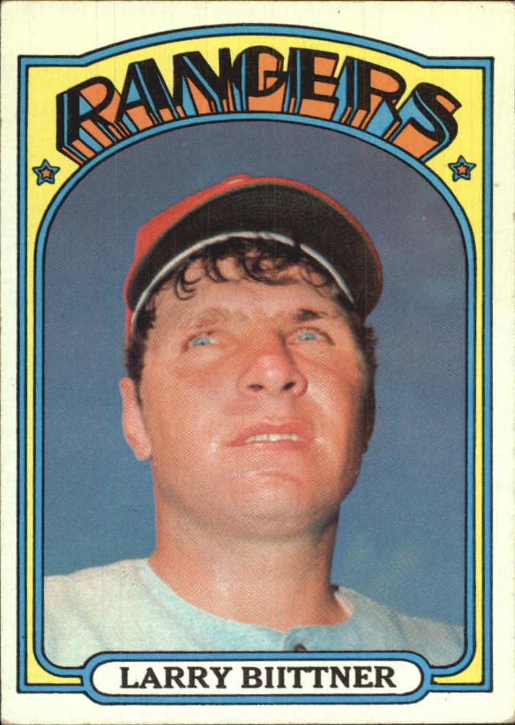 1972 Topps #122 Larry Biittner RC