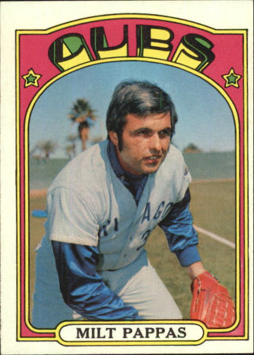 1972 Topps #208 Milt Pappas