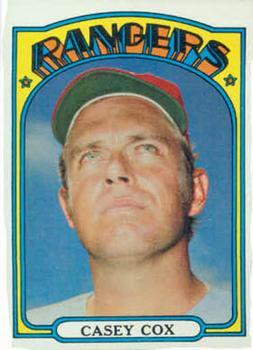 1972 Topps #231 Casey Cox
