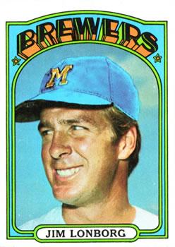 1972 Topps #255 Jim Lonborg