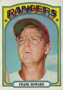 1972 Topps #350 Frank Howard