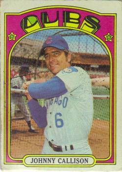 1972 Topps #364 Johnny Callison