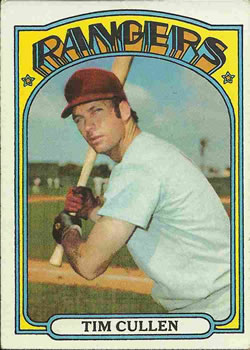 1972 Topps #461 Tim Cullen