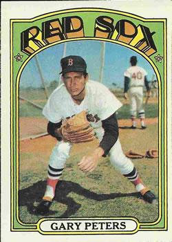 1972 Topps #503 Gary Peters