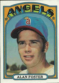 1972 Topps #521 Alan Foster