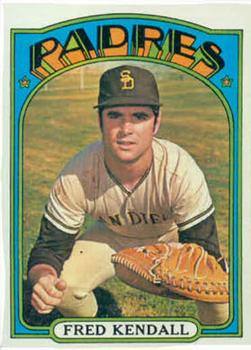 1972 Topps #532 Fred Kendall RC