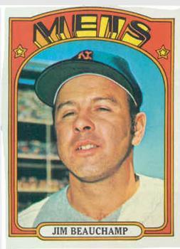 1972 Topps #594 Jim Beauchamp