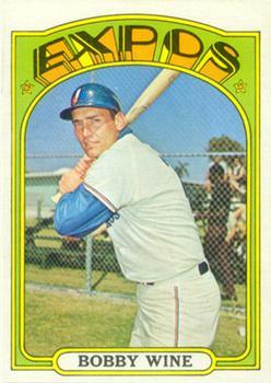 1972 Topps #657 Bobby Wine