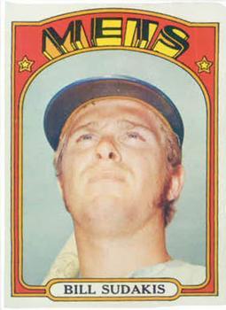 1972 Topps #722 Bill Sudakis
