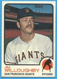 1973 Topps #79 Jim Willoughby RC