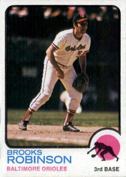 1973 Topps #90 Brooks Robinson