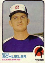 1973 Topps #169 Ron Schueler RC