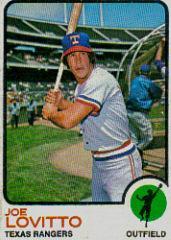 1973 Topps #276 Joe Lovitto RC