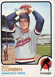 1973 Topps #411 Ray Corbin
