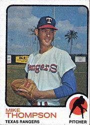 1973 Topps #564 Mike Thompson RC