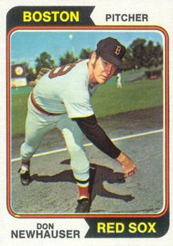 1974 Topps #33 Don Newhauser RC