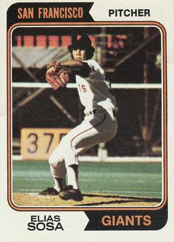 1974 Topps #54 Elias Sosa RC