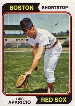 1974 Topps #61 Luis Aparicio
