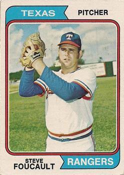 1974 Topps #294 Steve Foucault RC