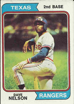 1974 Topps #355 Dave Nelson