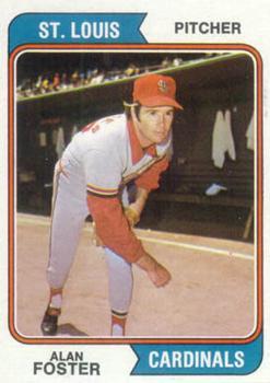 1974 Topps #442 Alan Foster