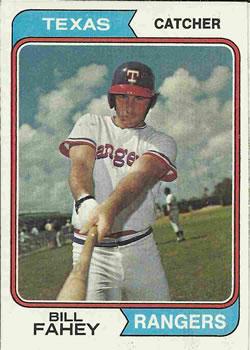 1974 Topps #558 Bill Fahey