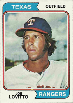 1974 Topps #639 Joe Lovitto