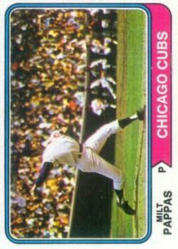 1974 Topps #640 Milt Pappas