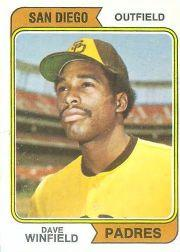 1974 O-Pee-Chee #456 Dave Winfield RC
