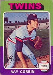 1975 Topps #78 Ray Corbin