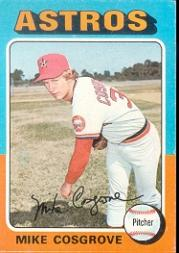 1975 Topps #96 Mike Cosgrove RC
