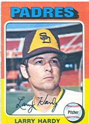 1975 Topps #112 Larry Hardy RC
