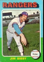 1975 Topps #155 Jim Bibby