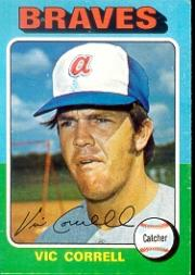 1975 Topps #177 Vic Correll RC