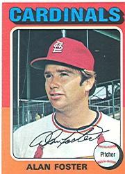 1975 Topps #296 Alan Foster